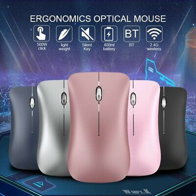WIRELESS MOUSE BLUETOOTH Mouse For Macbook Air Pro Win/Mac