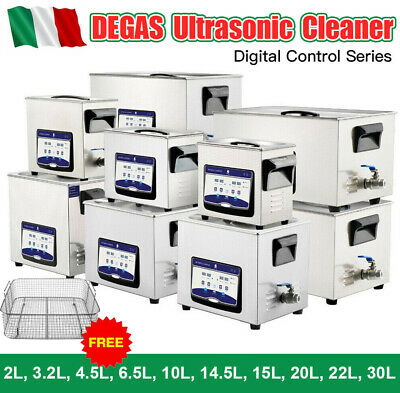 2l-30l DEGAS Digital pulitore ultrasonico a Ultrasuoni Ultrasonic Cleaner +cesto