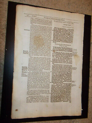 1641-Foxe's Book of Martyrs-Death of Queen Anne-Tyndale Letters-Folio-Rare!