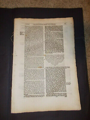 1641-Foxe's Book of Martyrs-Large Remnant of Book 1-Many Leaves-Folio-RARE!!!