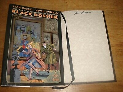 The League of Extraordinary Gentlemen.The Black Dossier,Signed Copy,KEVIN O'NEIL