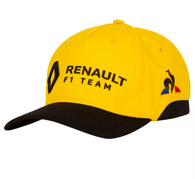 RENAULT F1® Official Adults Team Cap - 2019 - Yellow - clearance