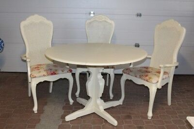 Vintage Shabby Chic Table & Chair Set