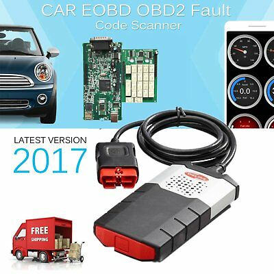 2017 Diagnostic Tool Scanner Kit VCI D Pro Auto Tester via OBD2 for Cars TruckWI