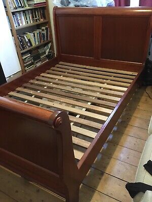 Antique Louis Philippe Bed, Beech Wood, Good condition