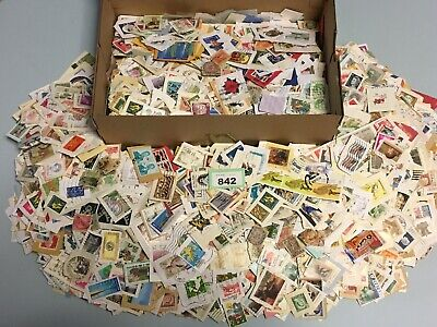 Lot #G842 - Unsorted 1.8kg Box Of Foreign Stamps - Charity Collected