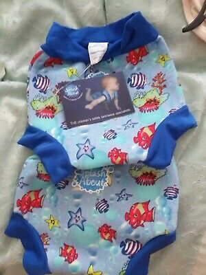 Happy Nappy Splash About Swim Baby Toddler UVPF50+ size large Reusable Sun Safe
