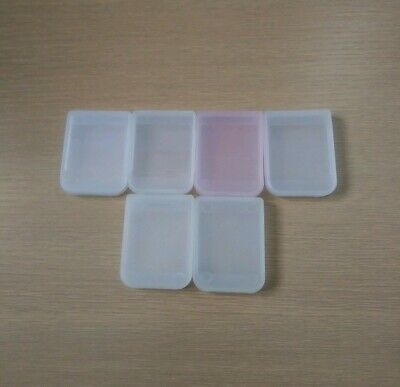 Playstation One Memory Card Cases Clear X6