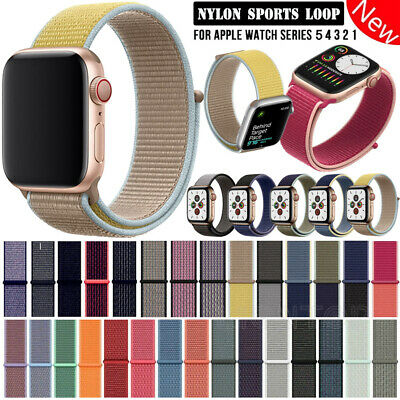 Für Apple Watch Nylon Armband Sport Loop aus Nylon Watch Series 1 / 2 / 3 / 4