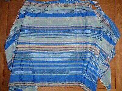 Blue Stripe, Size 12/14 Beach Skirt/Cover Up By Fantasie *New*