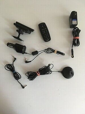 SIRIUS XM Radio accessories LOT Starmate 5, Remote, Antenna, 12V power, and dock