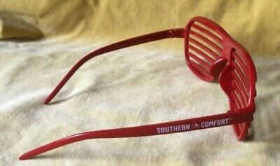 Southern Comfort Red Shutter Shades Sunglasses Collectable Fancy Dress Costume