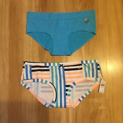 American Eagle Aerie Boybrief Underwear Size Large Womens 2 Pair