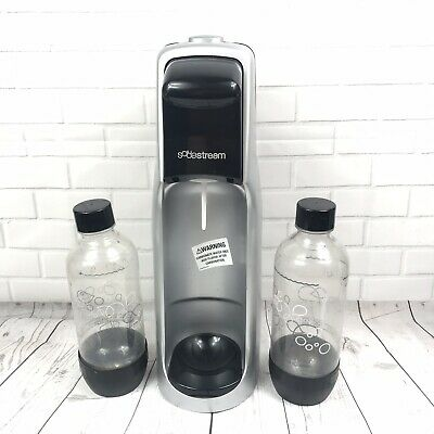 DURABLE Soda Stream Carbonated Beverage Maker with 2 Bottles