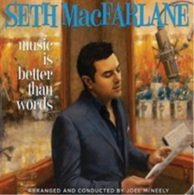 Seth MacFarlane-Music Is Better Than Words (US IMPORT) CD NEW