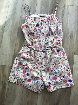 Marks And Spencer Autograph Girls Playsuit Age 6 7