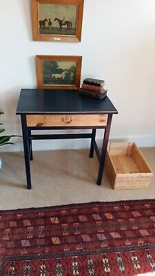 Lovely Painted Pine Vintage Hall, Side, Console Table