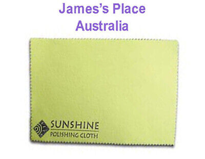 Sunshine Polishing Cloth - silver, gold, brass, copper etc