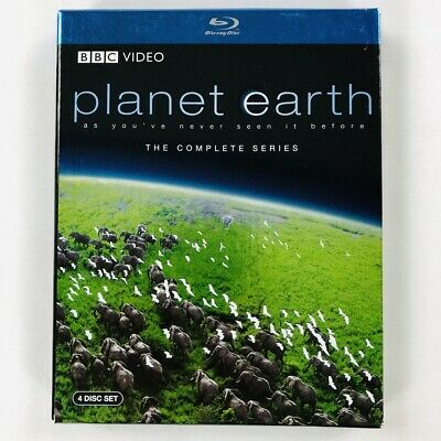 Planet Earth - The Complete Series Collection (Blu-ray Disc, 4-Disc Box Set)