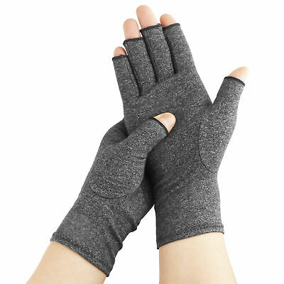 Copper Compression Arthritis Gloves Fit Carpal Tunnel Joint Pain for Men & Women
