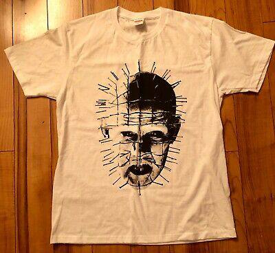 688b96e5f9f4 SUPREME HELLRAISER HELL On Earth Tee Size L Black 2 Sided Graphic T ...