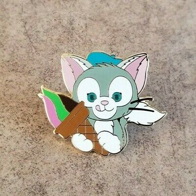 Pin Trading Disney Pins Gelatoni Cat From HKDL Duffy Starter Set Ice Cream Cone