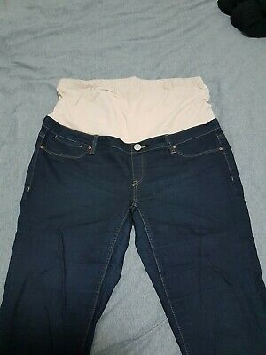 Size 16 Jeanswest Dark Blue Maternity Skinny Jeans