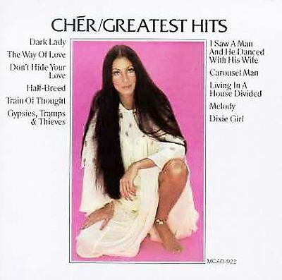 Greatest Hits [MCA] by Cher (CD, Oct-1990, MCA Records)