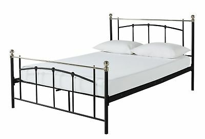 Yani Double Bed Frame - Black.