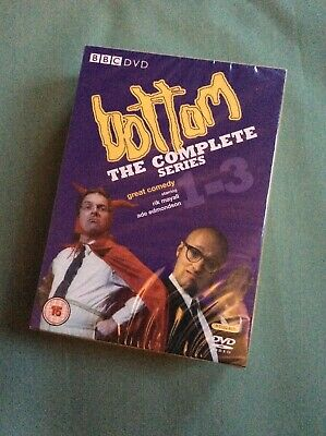 BOTTOM COMPLETE SERIES 1-3 DVD BOX SET Rik Mayall UK Release NEW Sealed R2