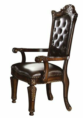 Acme Furniture 60004 Vendome Arm Chair, in Cherry Finish, Set of 2 New
