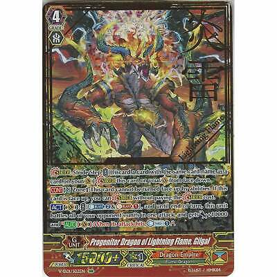 C Cardfight 4x V-EB03//051EN Flame of Victory