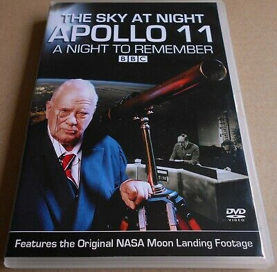 BBC The Sky at Night - Apollo 11 - A Night To Remember DVD 2009