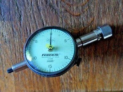 Vintage Depth Gage With Federal (Usa) Indicator C5M .0005""