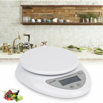 5kg /1g Digital Electronic LCD Dispaly Kitchen Food Diet Scale Weight Balance AU