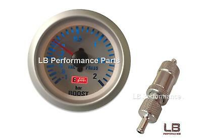 Manual Boost Controller MBC and Gauge Kit - Bar for  Any Petrol Turbo Car  (SV)