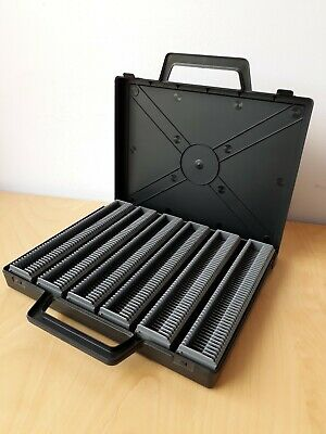 ENNA 300 DELUXE SLIDE STORAGE MAGAZINES IN CASE (6 x 50) fits Leitz, Rollei etc