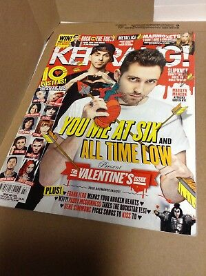 Kerrang 1555 YOU ME AT SIX-ALL TIME LOW-MARILYN MANSON FEBRUARY 14 2015