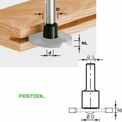 Festool Milling Spindle Cutter s8 1,5-5 d14 499805 of 1010, OFK 700, MFK 700