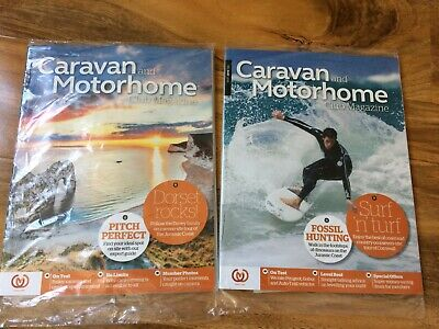 Caravan and Motorhome Club Magazines 2 issues (May & June 2019) - New / Sealed