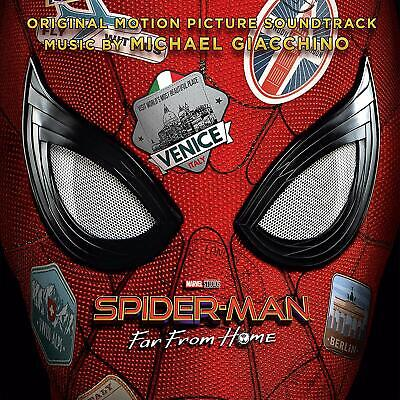 Spider-Man: Far From Home SOUNDTRACK michael giacchino CD ALBUM NEW (5TH JULY)