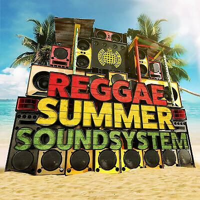 Reggae Summer Soundsystem - Ministry Of Sound Various 3 Cd Set New (12Th July)