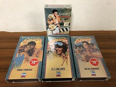 King Creole BETA Elvis Presley BETAMAX Key Video - GI Blues Blue Hawaii Speedway