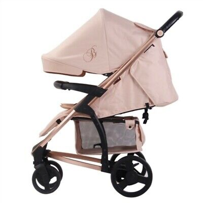 PRE-LOVED & REBOXED My Babiie MB200 Rose Gold & Blush Pushchair #501