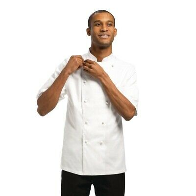 Chef Works Capri Executive Chefs Jacket White 36 [A915-36]
