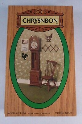1:12 scale Old Store Stock Chrysnbon Victorian General Store Clock Kit New