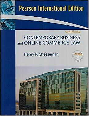 Contemporary Business and Online Commerce Law : International Edition-ExLibrary