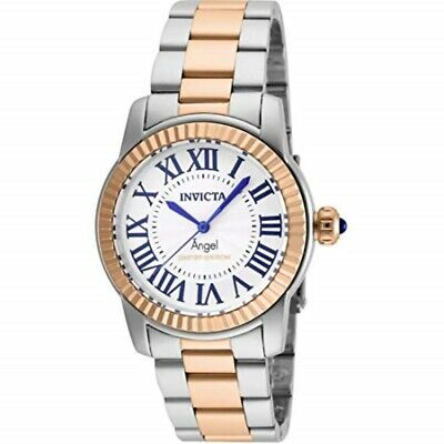 Invicta Swiss Womens Angel Rose Gold Plated Limited Edition 38mm Stainless Watch