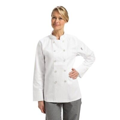 Whites Womens Chefs Jacket M [B099-M]