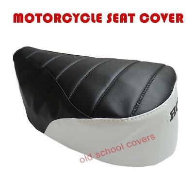 Honda Nc50 Express 1977-83 Black & White Seat Cover With Honda Logo